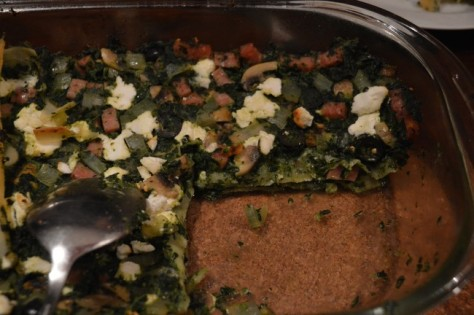 Lasagne geitenkaas 2