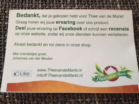Thee van de markt 6